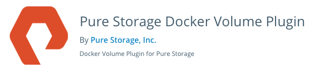 Docker Volume plugin for Pure Storage